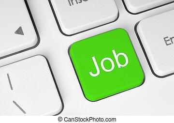 Green job button