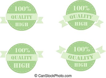Green labels high quality