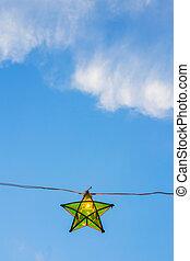 green lantern star