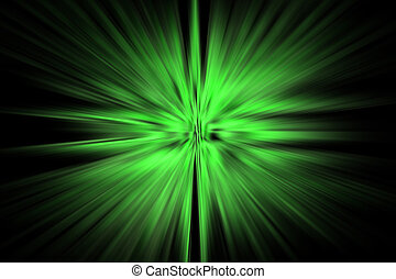 Green Laser Light Effect Background Useful For Photo Editing
