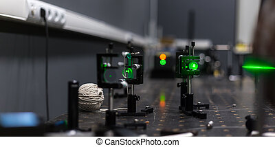 green lasers in the laboratory