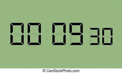 Green LCD Countdown HD