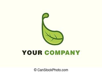 green leaf Healthy logo