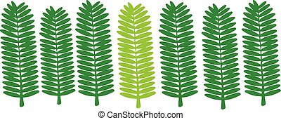 green leaf icon on white background