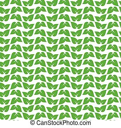 green leaf pattern vector illustration