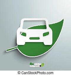 Green Leave Car
