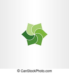 green leaves clip art vector icon eco symbol