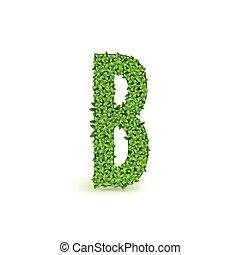Green Leaves font B.