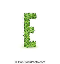 Green Leaves font E.
