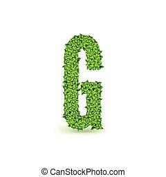 Green Leaves font G.