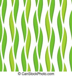 Green leaves pattern.