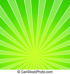Blank Abstract Background with Green Glowing Energy