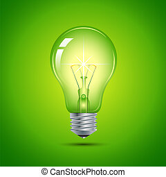 This image is a vector file representing a light bulb.