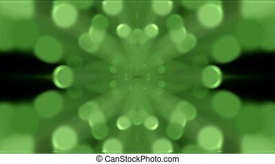 green light shaped pattern,Flower