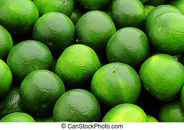 green lime citrus fruit