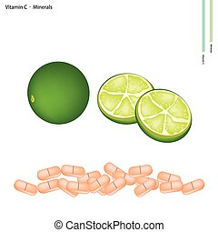 Green Limes with Vitamin C and Minerals