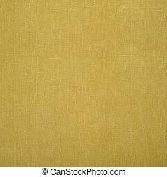 Green linen napkin