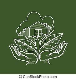 green living symbol