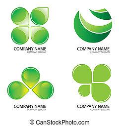 Green logo2.jpg - Set Of Green Logo Design Concepts