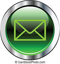 Green mail button