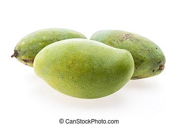 Green mango fruit