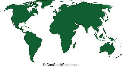 green map atlas