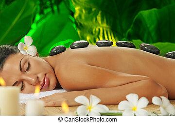 green massaage