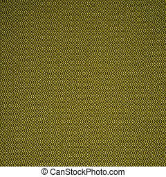 Green material texture