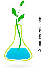 Green medicine logo