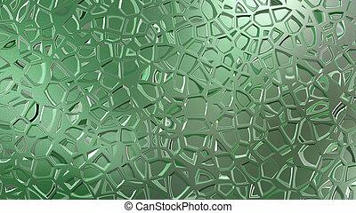 green metal giffar pattern