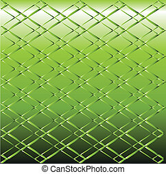 Green Metal grid background vector