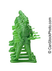 green military miniature