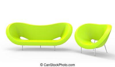 Green Modern Furniture