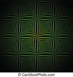 Green mosaic background. Vector illustration