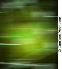 Green Motion Blur Background