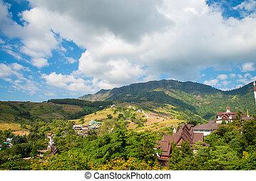 Green Mountain The rich vegetation in Thailand, KHAO KHO, Abundance