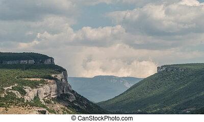 Green Mountains, Time Lapse