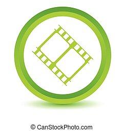 Green movie icon