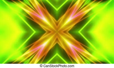 Green Multicolor Subtle VJ Loop - Green Multicolor Soft...