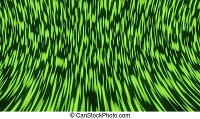 Green natural microworld, abstract animated background ...