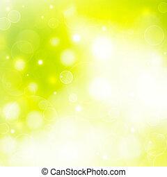 green natural summer background