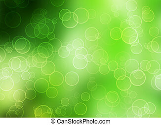 Green nature background with blur b