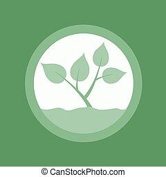 green nature symbol