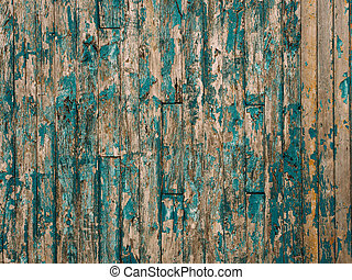 green old painted wall wood texture