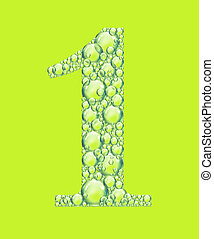 green one bubbles