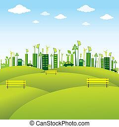 green or eco-friendly city design
