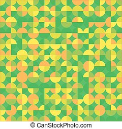 green orange abstract background