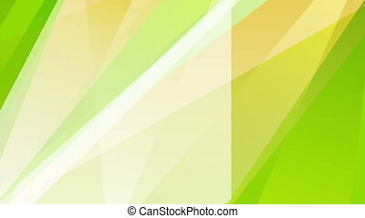 Green orange summer shiny stripes video animation - Green...