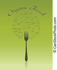 organic food - green organic food