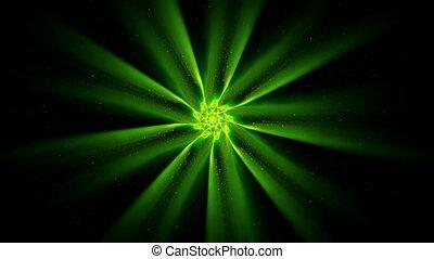 Green  Ornamental Round Pattern, Ma